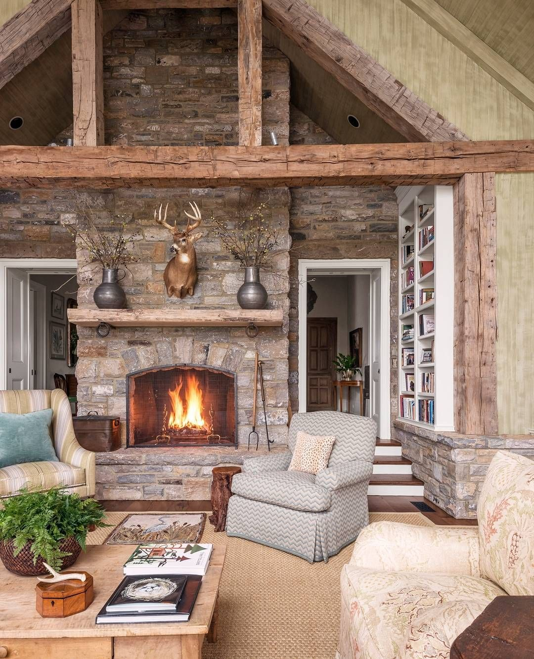 Even During Summer, We Can't Resist A Room This Cozy