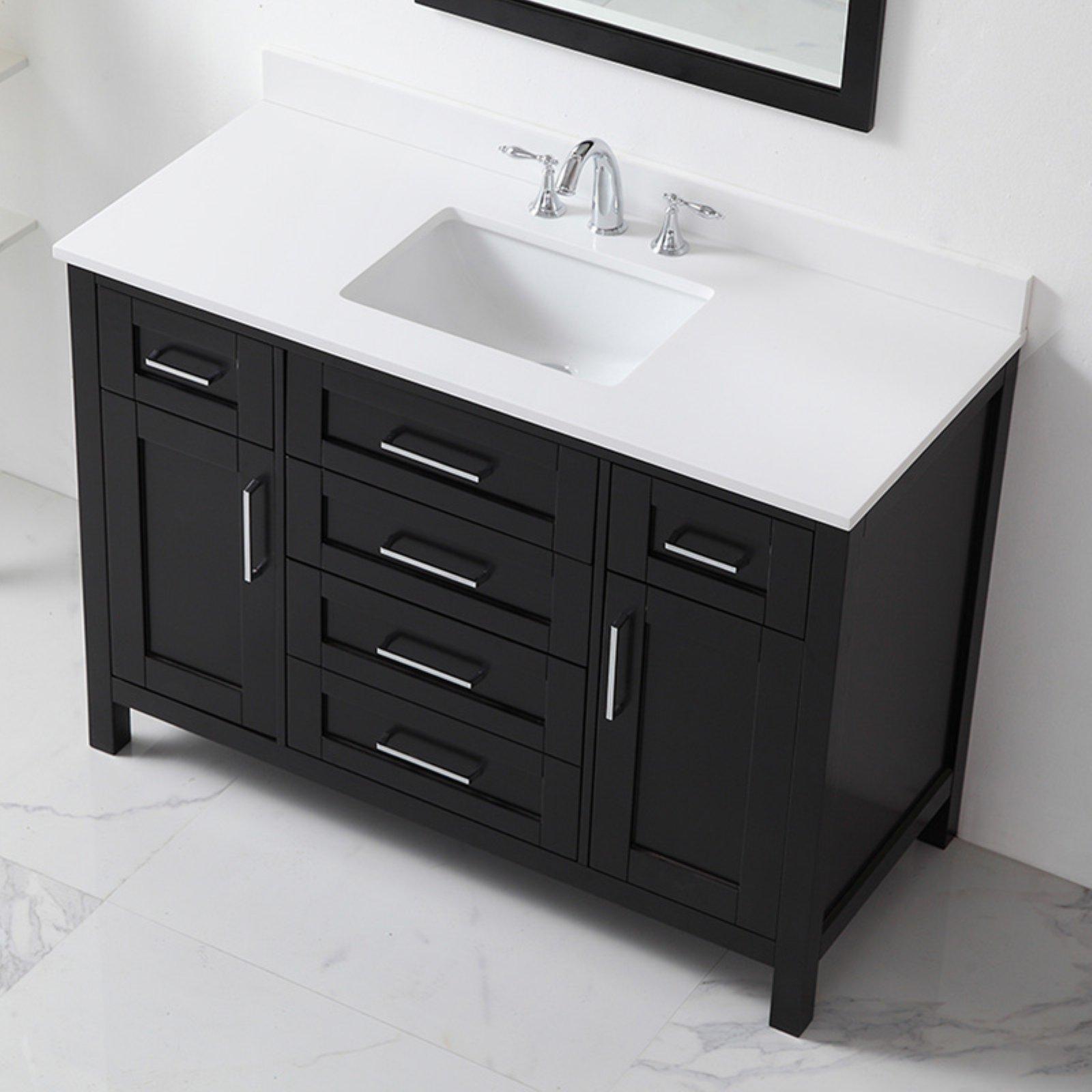 Ove Decors 48 In Single Sink Bathroom Vanity Single Sink Bathroom Vanity Vanity Marble Vanity Tops