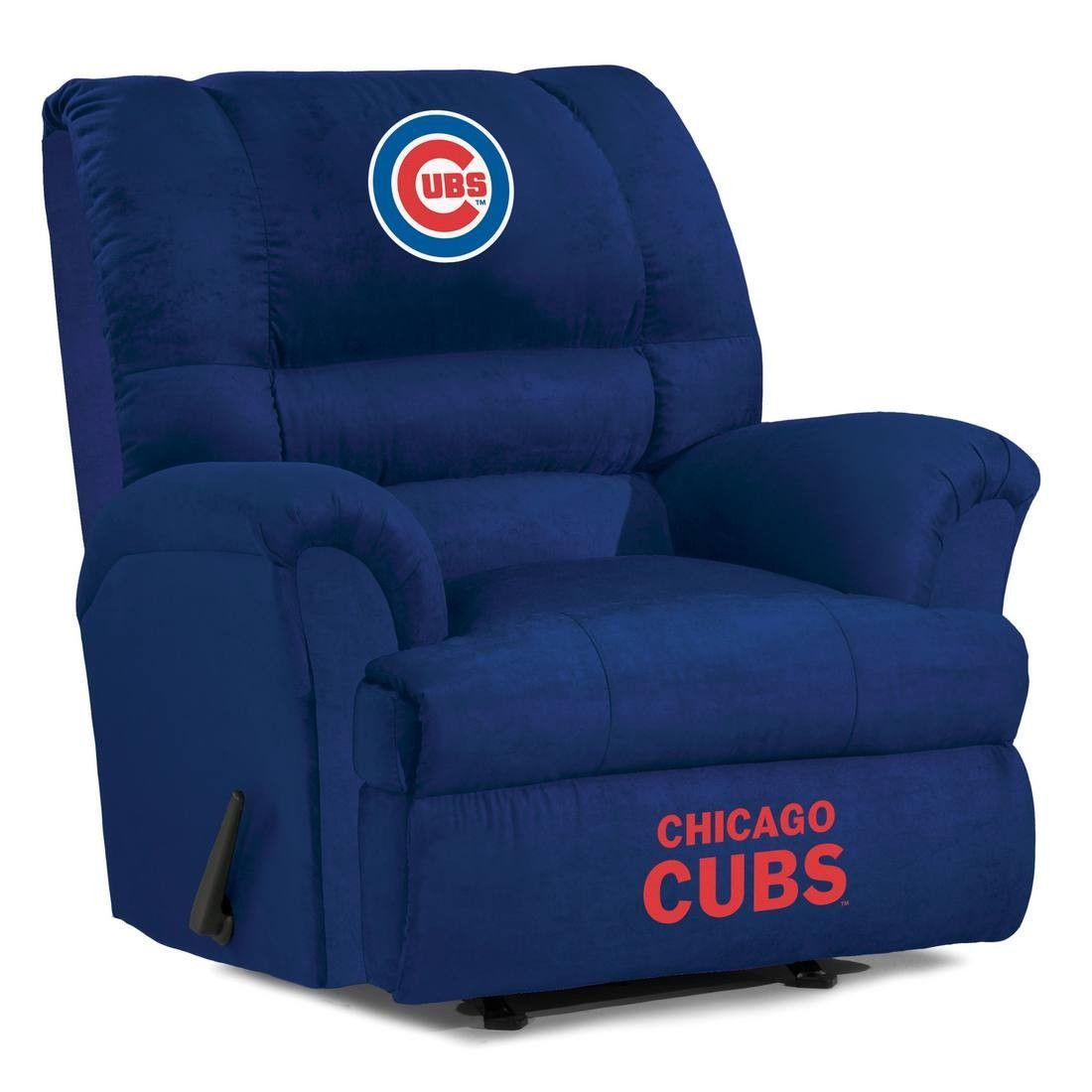 Attractive The Chicago Cubs Big Daddy Microfiber Recliner