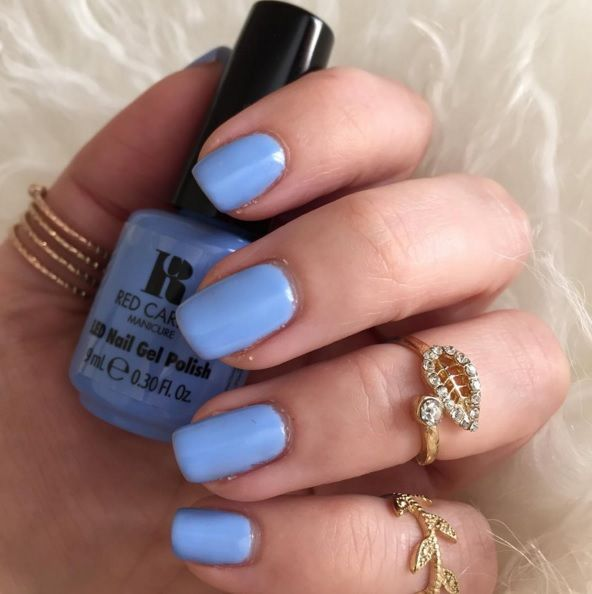 Red Carpet Manicure Blue Delicious Gel Polish