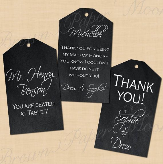 photo relating to Avery Printable Tags titled Chalkboard Dangle Tags (2.25x3, Portrait): Words and phrases-Editable