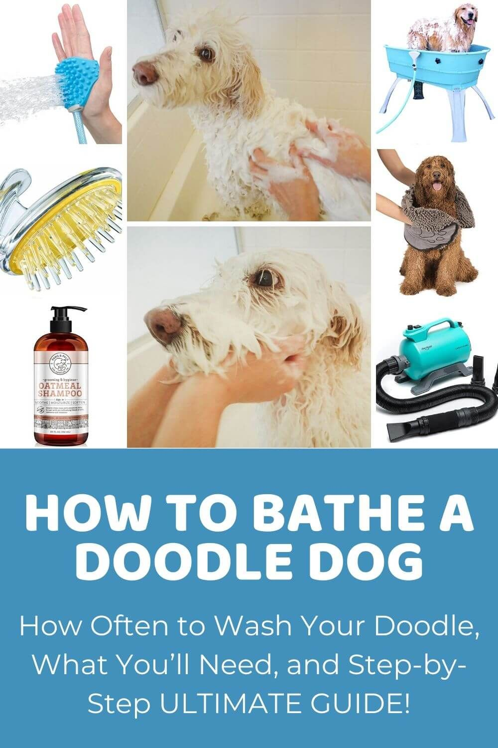 How to Bathe a Dog Ultimate Guide to Bathing Doodles in