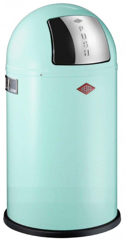Wesco 175831-51 Pushboy MINT 50-Liter Mülleimer: Amazon.de: Küche ...
