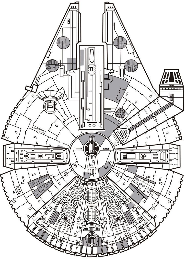 millennium falcon by j ecopo star wars pinte Winters Falcon Transmission millennium falcon by j ecopo more