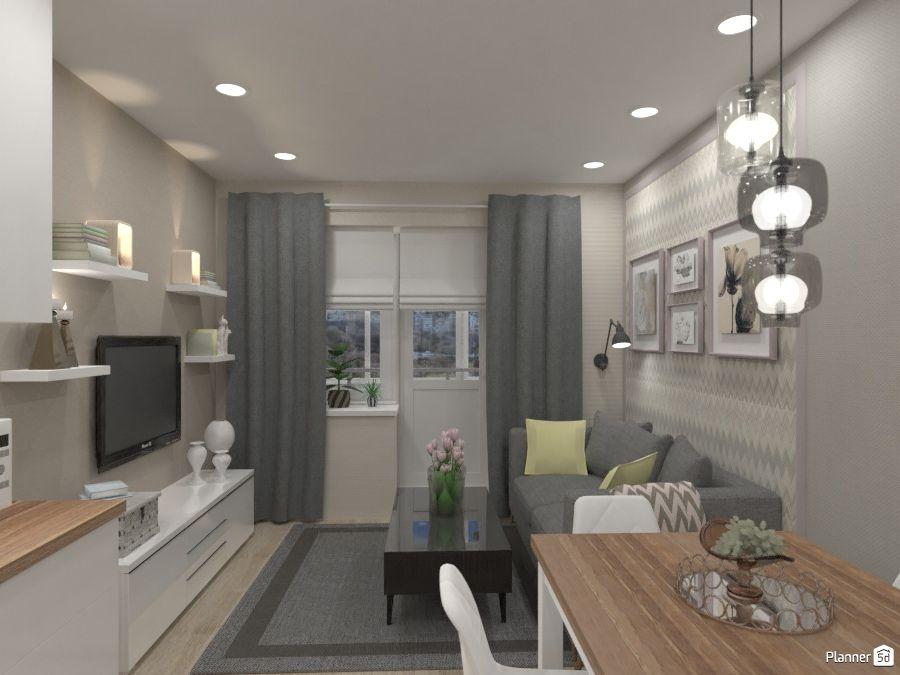 Modern Scandinavian Living Room Interior Planner 5d Living Room Planner Interior Design Tools Scandinavian Interior Living Room