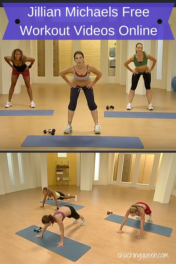 FREE Jillian Michaels Workout Videos Online - Save Money on Health, Fitness, Exercise