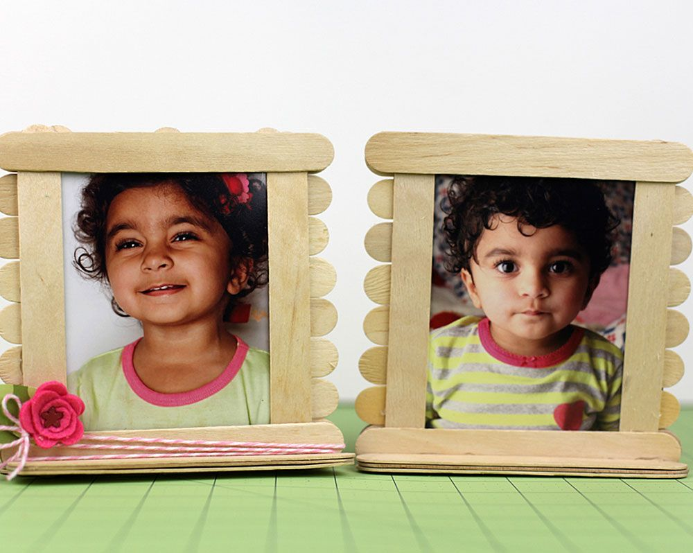 Popsicle photo frame for christmas winter pinterest crafts popsicle photo frame for christmas jeuxipadfo Gallery