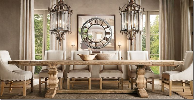 Most Beautiful Table In The World Restoration Hardware Dining Room Dining Room Renovation Dream Dining Room