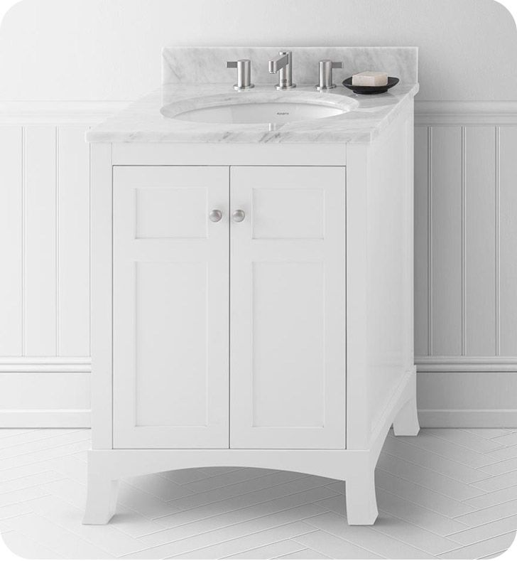 25 1/4 in 2020 | Bathroom vanity, Ronbow, Single bathroom ...