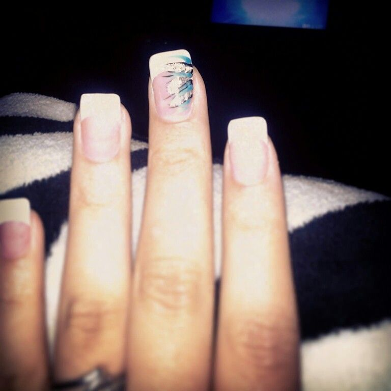 #summer #2013 #nails cute in love with them