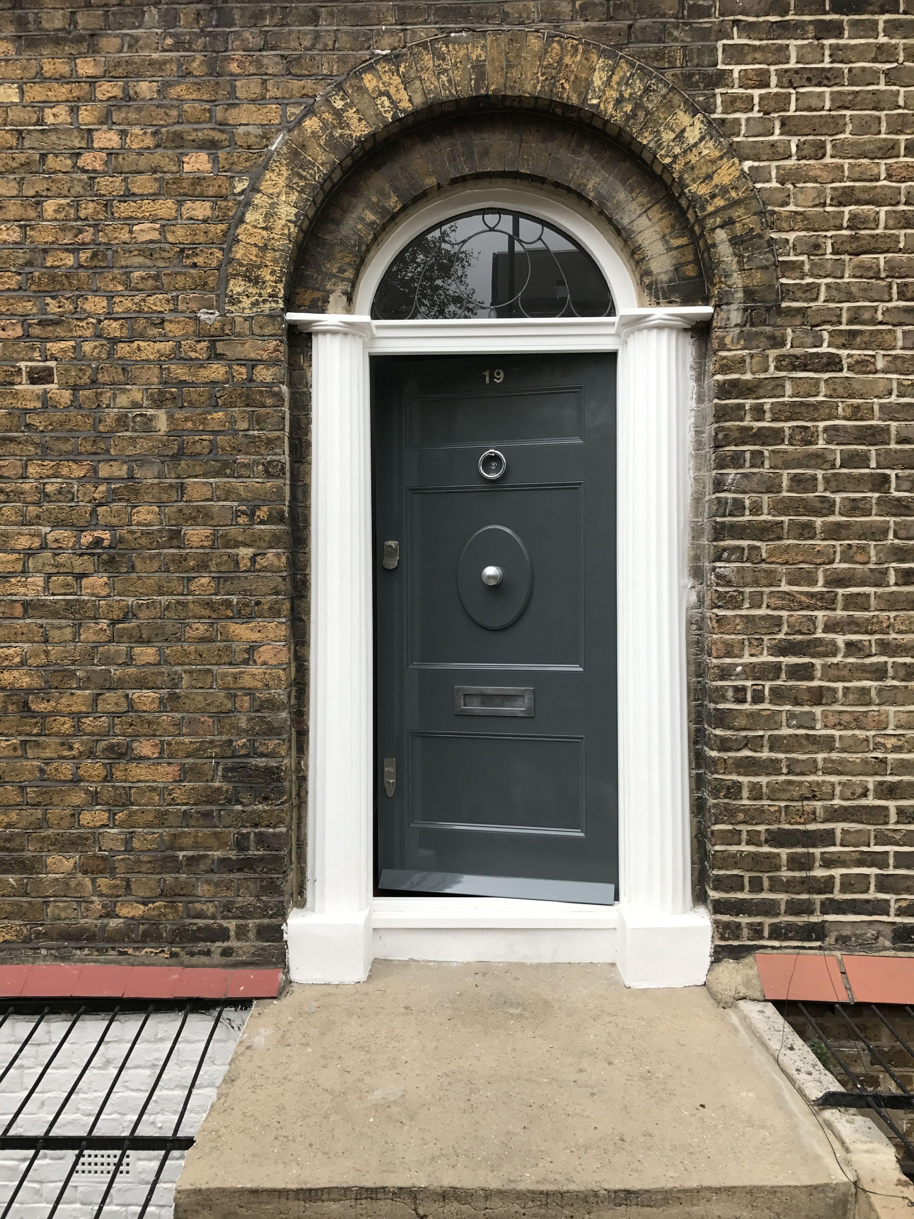 Period Front Door Installed In North London London Doors