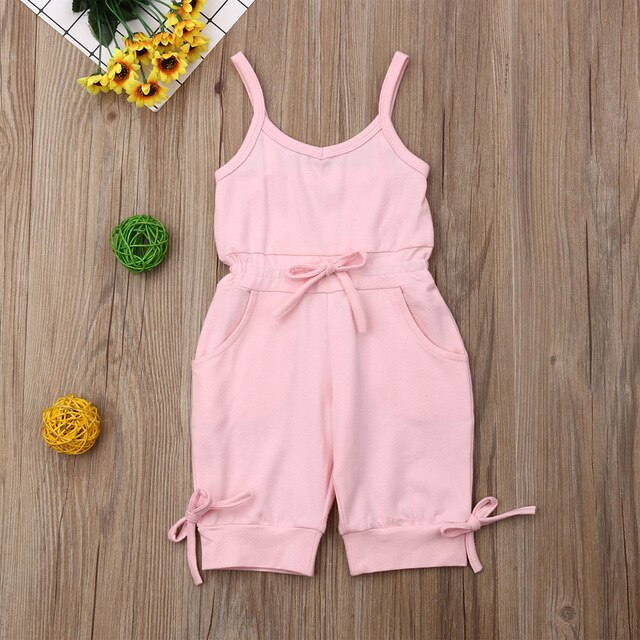 Toddler Baby Girl Romper Pants Outfits Clothing 1-6Y 2