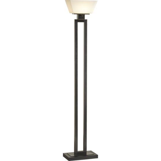 seguro floor mirror | torchiere lamp and floor lamp