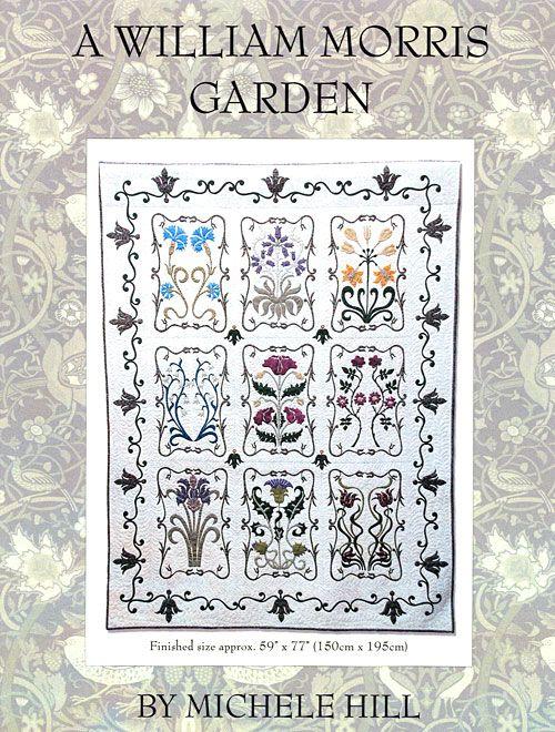 A William Morris Garden - Appliqué Pattern by Michele Hill | Quilt ...