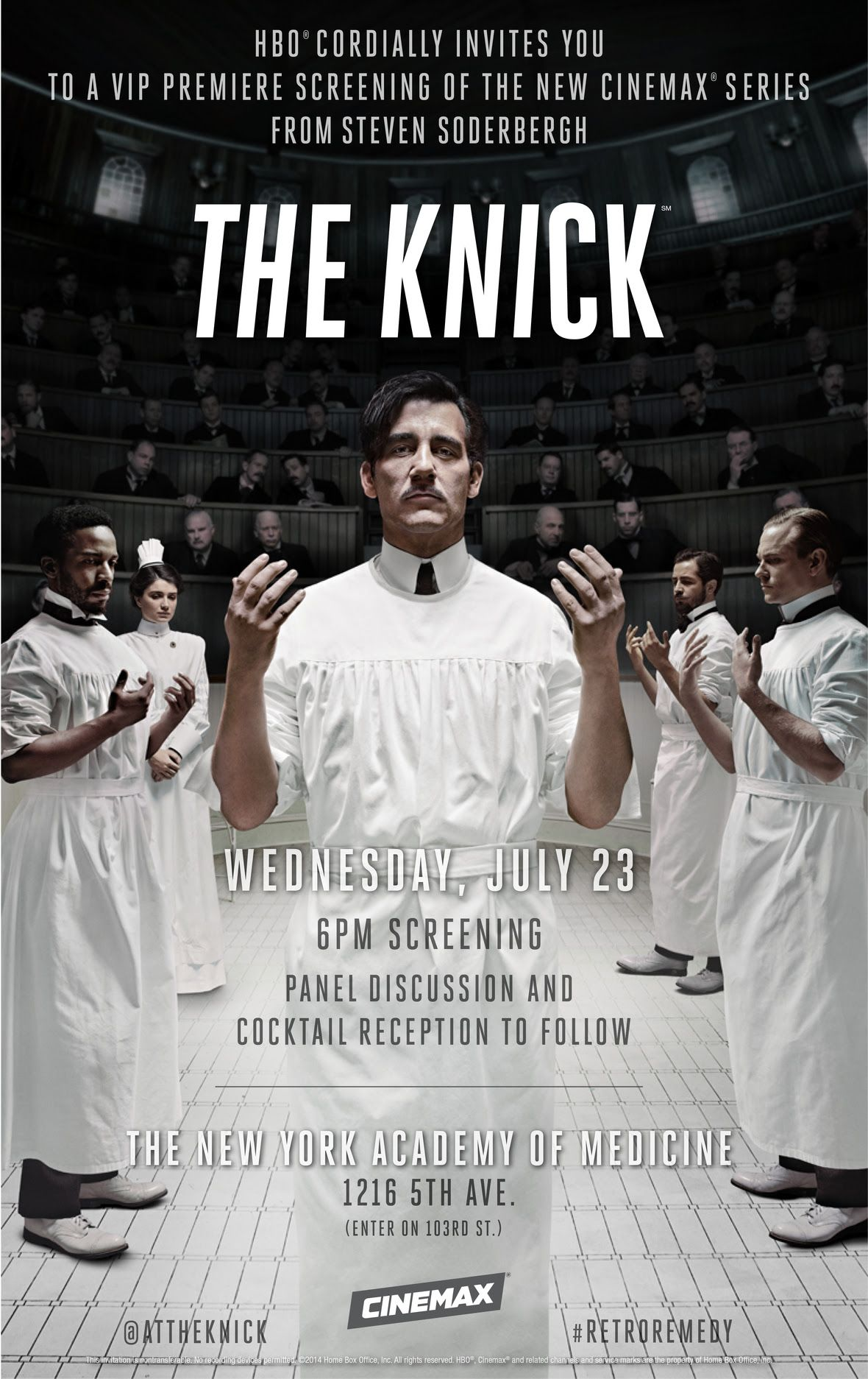 Cinemax Love Love Love This Crazy Show The Knick Drama Tv Series Cinemax
