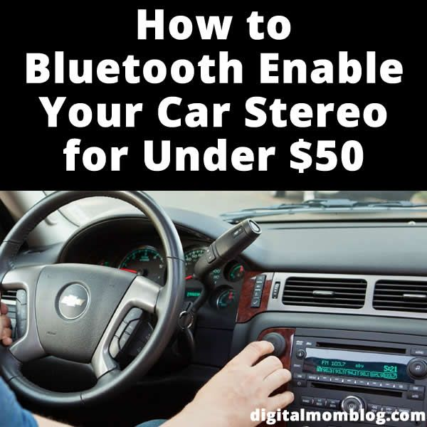 How To Bluetooth Enable Your Car Stereo Car Stereo Car Gadgets Diy Car
