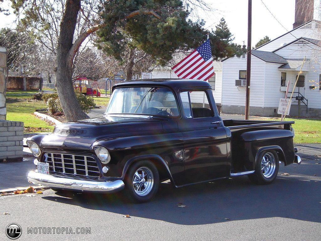 1955 Chevrolet Pickup Short Box Chevrolet Pickup 1955 Chevrolet 1955 Chevy Truck