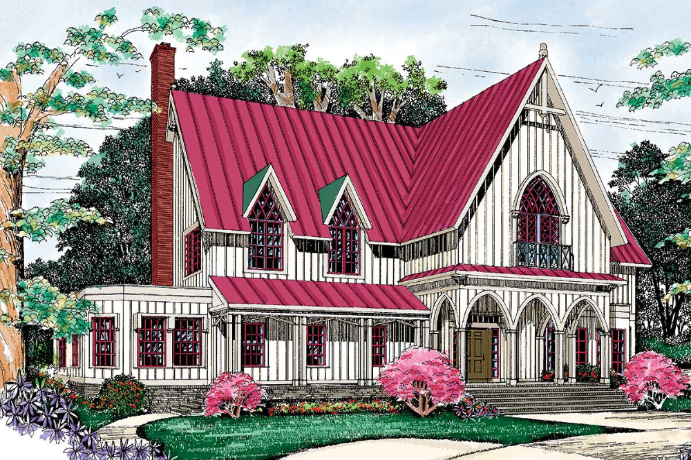 Plan 81265w 2 Story Victorian House Plan With Upstairs Play Room In 2021 Victorian House Plans Craftsman Style House Plans Victorian Homes