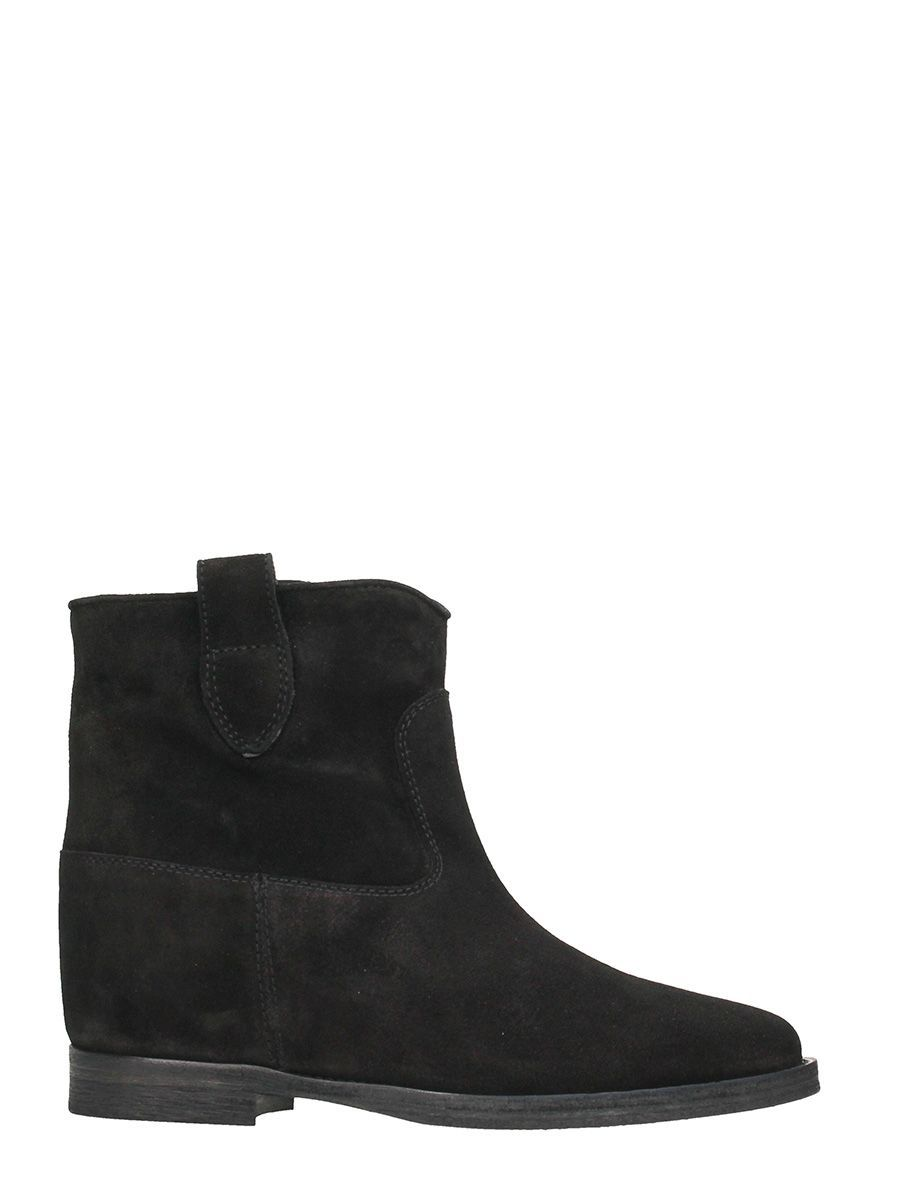 Explore Sale Online Sale For Nice Via Roma Suede and leather ankle boots with ankle strap women's Low Ankle Boots in tOPcb