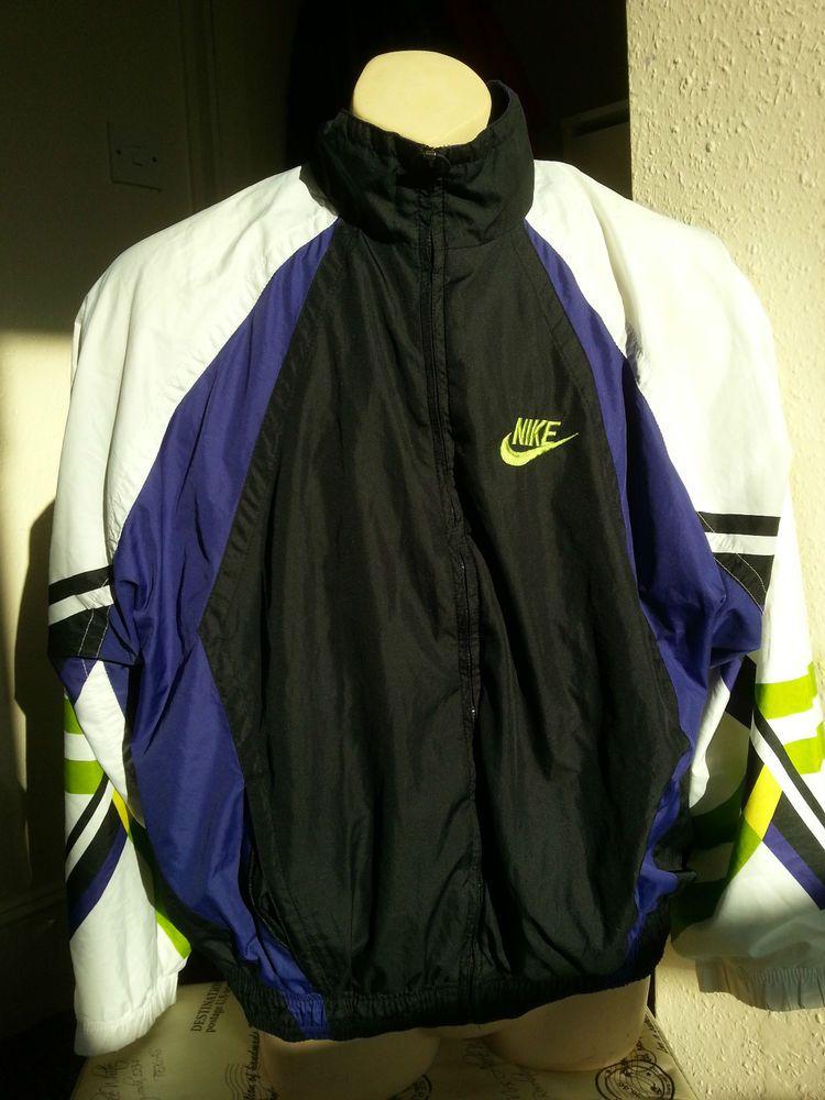Nike Vintage Retro Jacket Tracksuit Raver 90 S Shellsuit Tracksuit Retro Jacket Vintage Nike