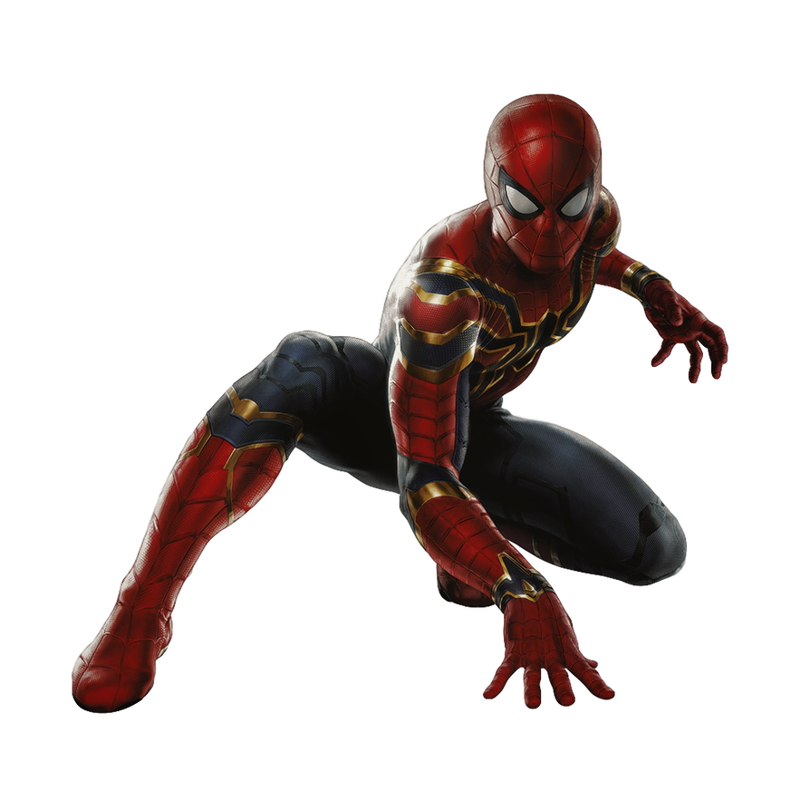 Iron Spider No Iron Legs Transparent By Camo Flauge