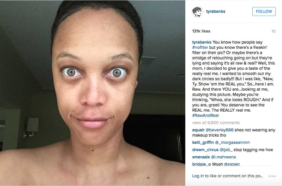 How Tyra Banks Does Her Makeup in 5 Minutes Tyra, Fast