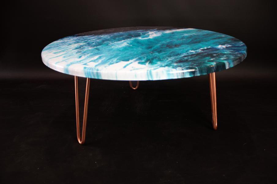 Resin Art Furniture Hairpin Leg