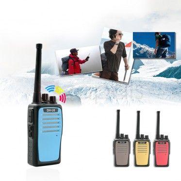 DH-U8 10W 16CH Walkie Talkie 400-480MHz FM Transceiver Intercom