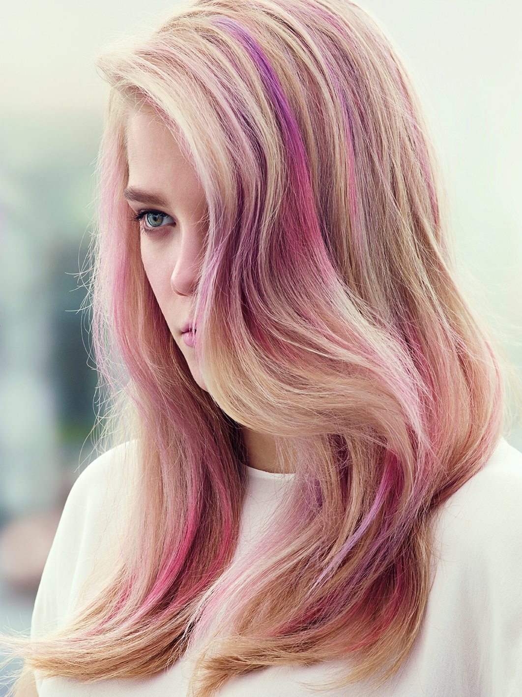 Pink Affair By Wella Professionals Rock A Diffused Color Finish