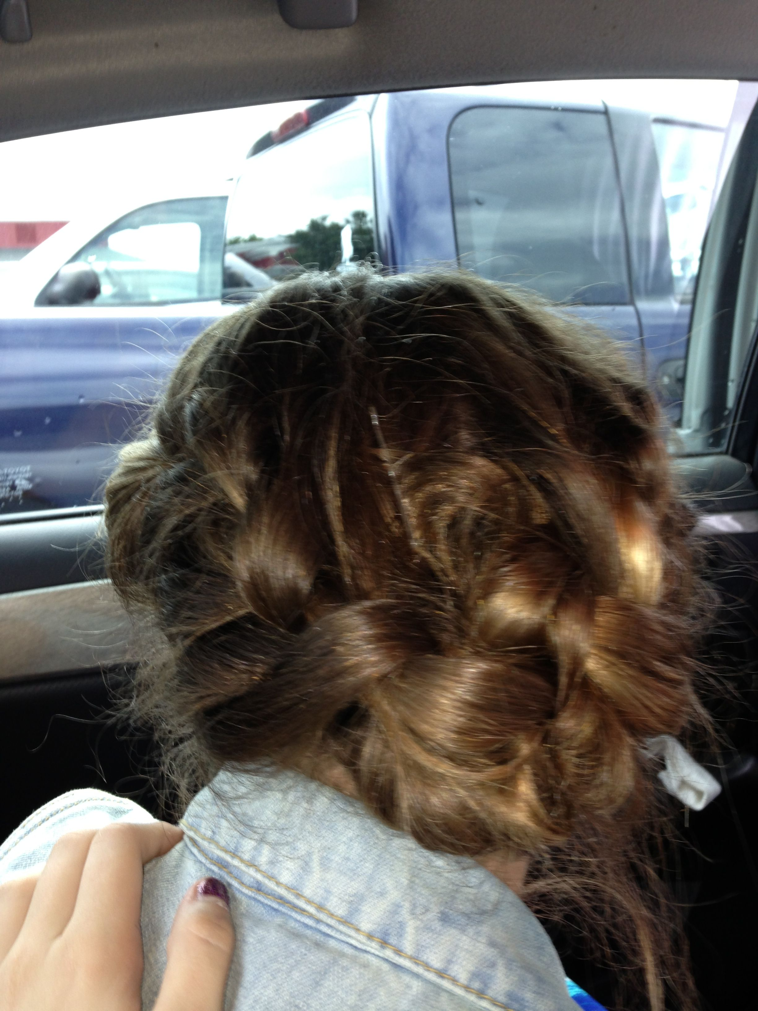 Cute hairstyles i did on my moms boyfriends daughteri love itits