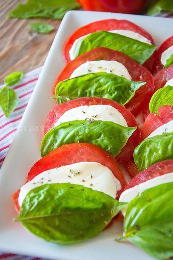 Photo of Caprese Salad {How Italians Make It} – Italian Recipe Book