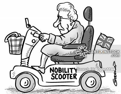 Nobility Scooter Cartoon Nobility Scooter
