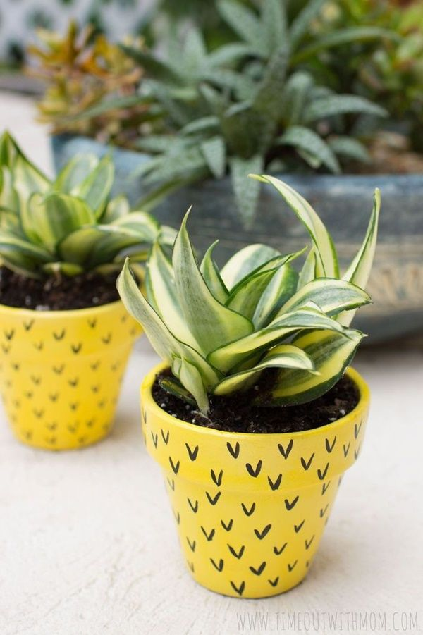 40 Flower Pot Painting Ideas And Designs To Try #flowerpot