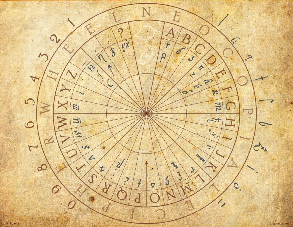Copiale cipher decoder Wheel  The Copiale cipher is an