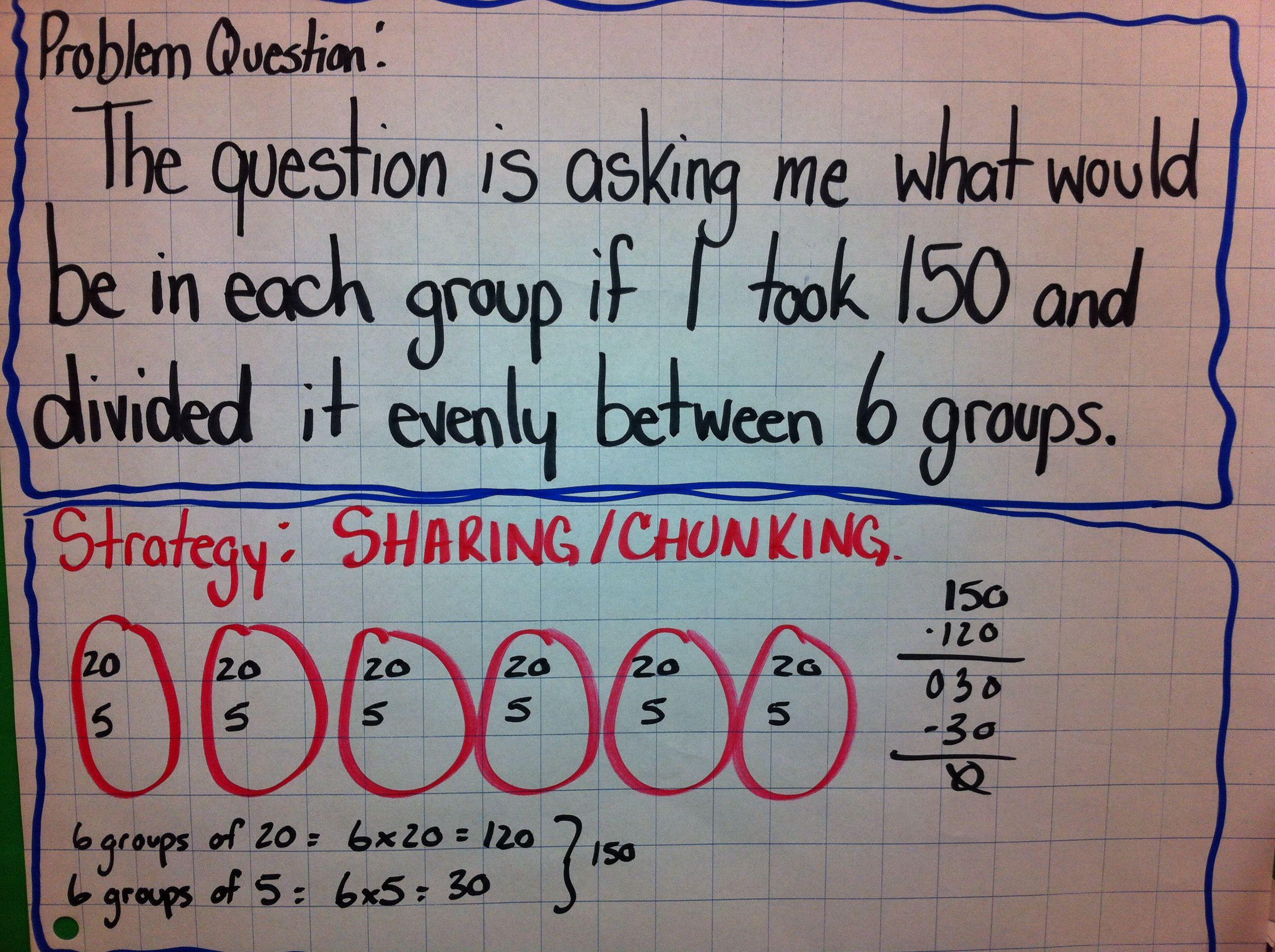 Mathchunking