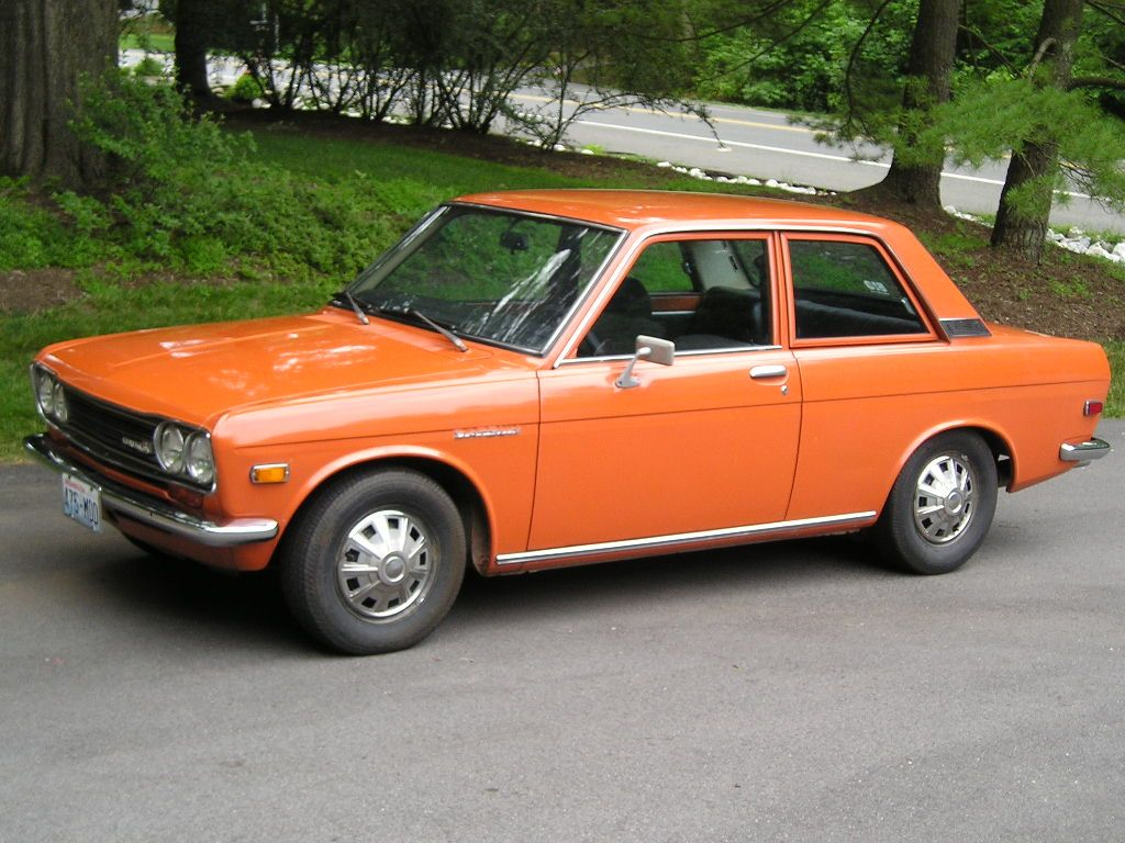 Nissan datsun 510 truck - That Was My First Car In Orange Datsun 510