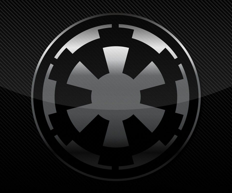 Galactic Empire Logo Empire Wallpaper Star Wars Awesome Star Wars Stickers