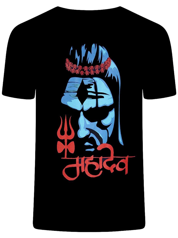 42ffb2df1 mahakal tshirt for men low price Color :: Black Tshirts | Fabric :: cotton t  shirt | 100% Cotton Print Type : Ruber print | Neck :- round neck tshirts  for ...