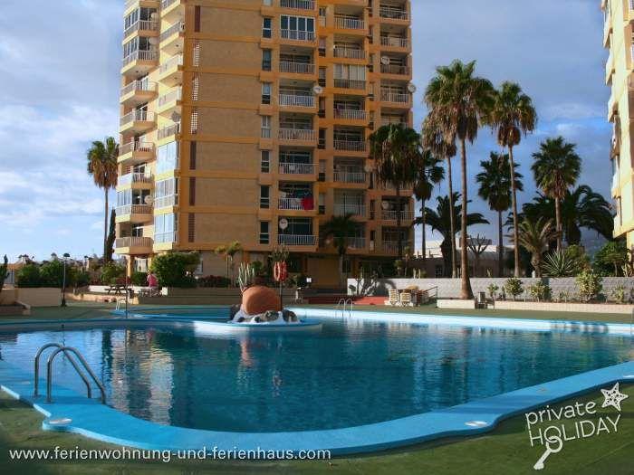 Strandnahes Apartment in Playa de las Americas mit
