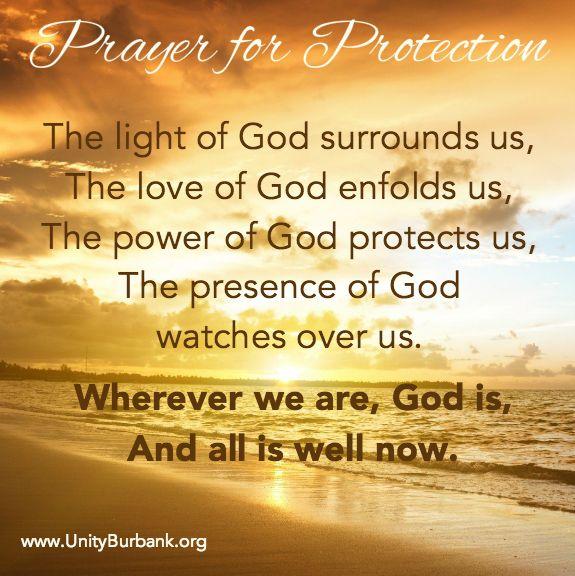The Unity Prayer for Protection | Unity prayer, Prayer for