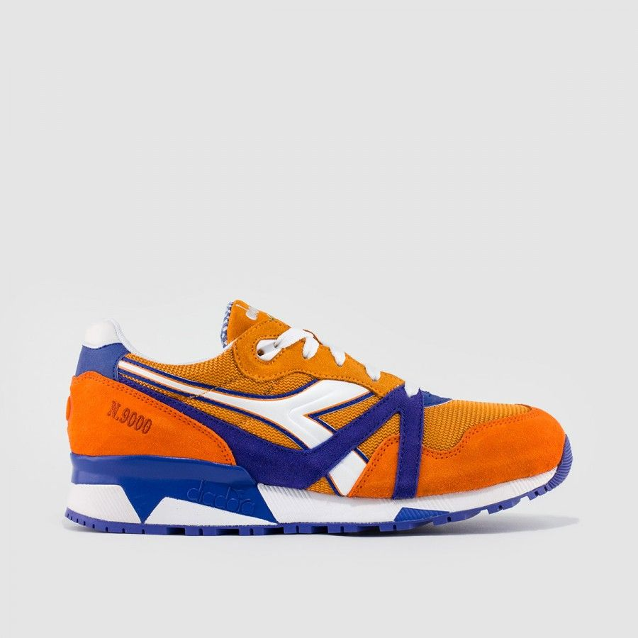 Packer X Diadora N9000 Dinamo Zagreb Orange Footwear