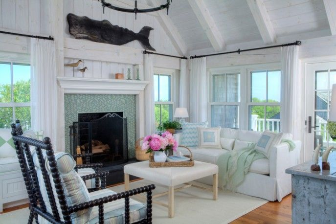 Beautiful Explore Nantucket Style, Coastal Style, And More! Sea Glass Colored Living  Room ...