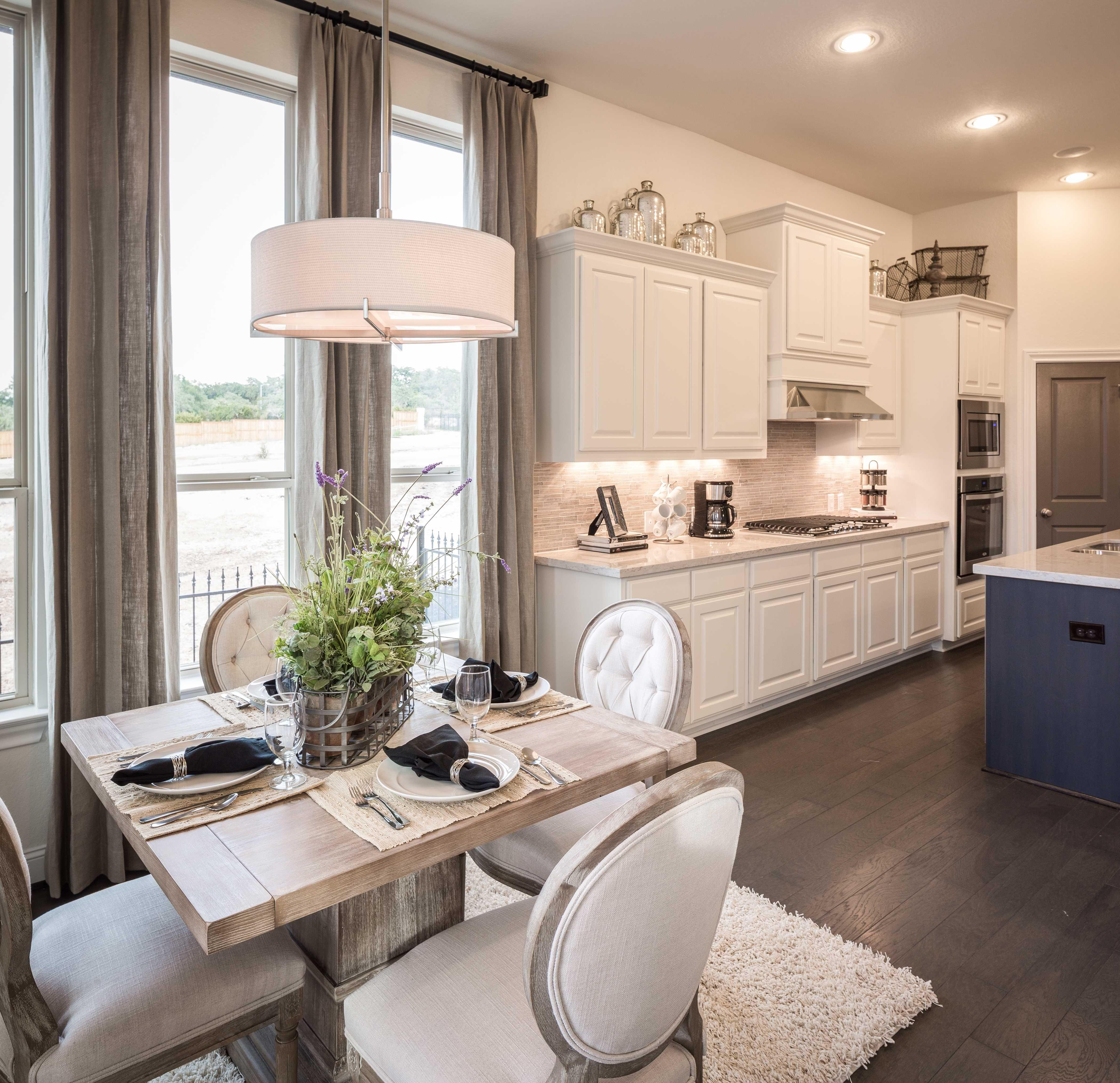 Model Home in San Antonio Texas Coronado community  Blue