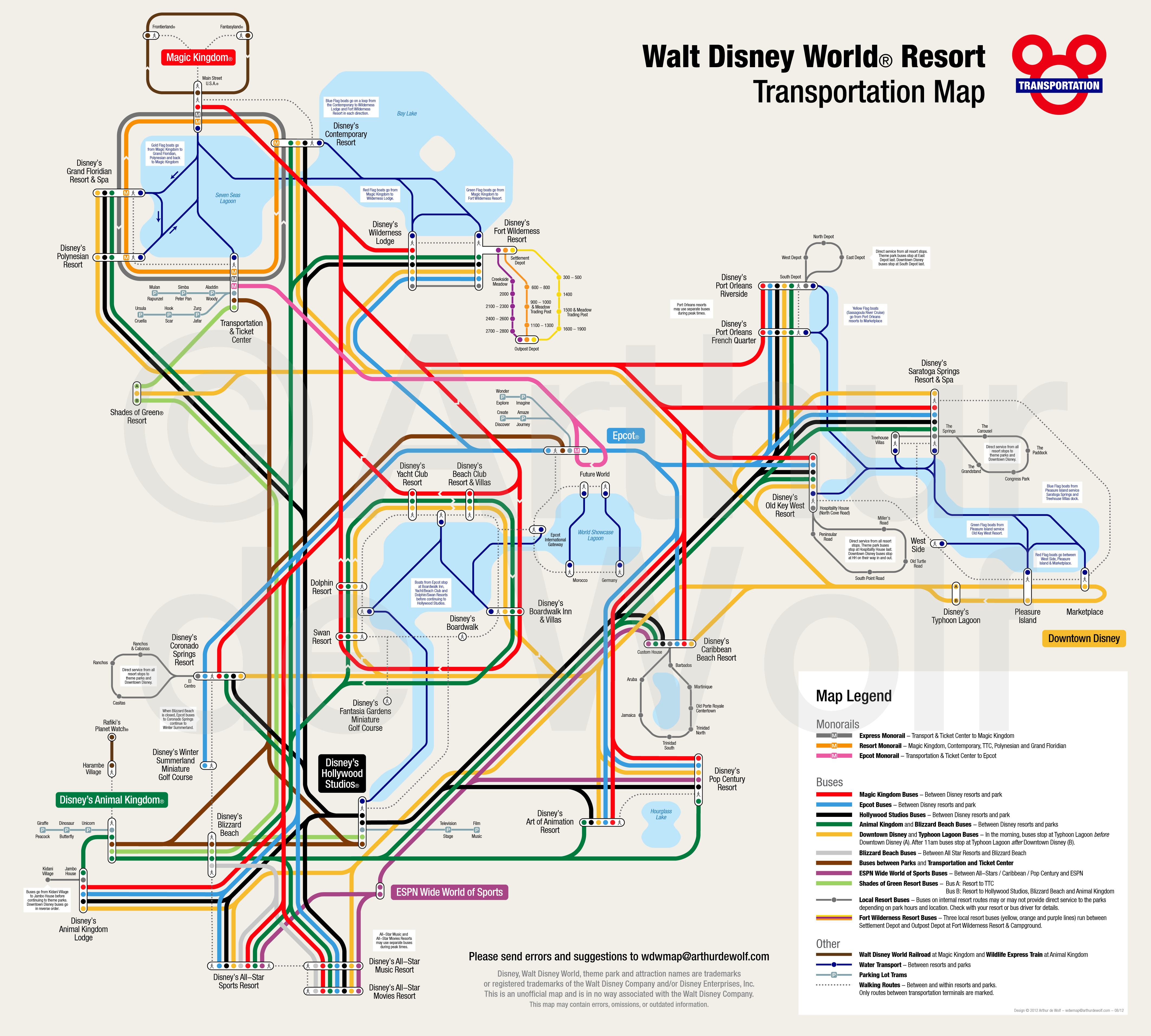 Disney World has a better transportation system than the city of ...