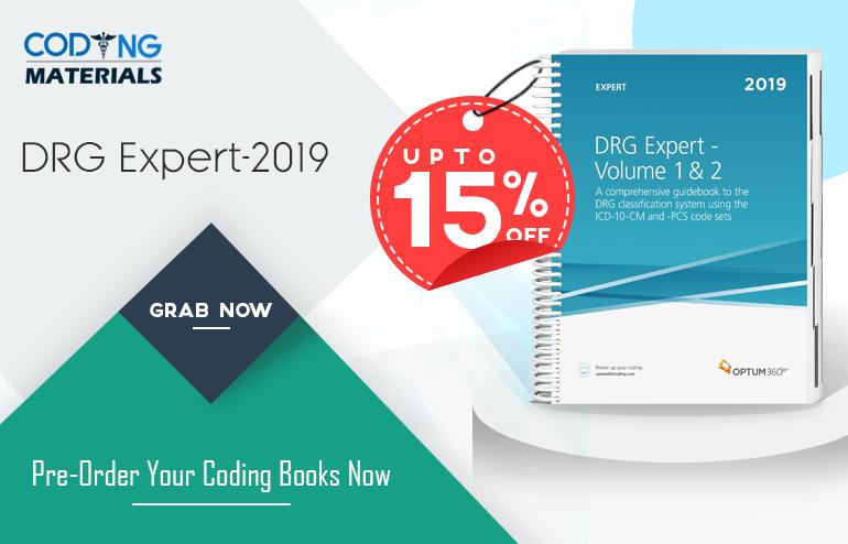 Drg Expert 2019 2 Volume Set Shrink Wrapped Medical Coding Jobs Medical Coding Coding Jobs