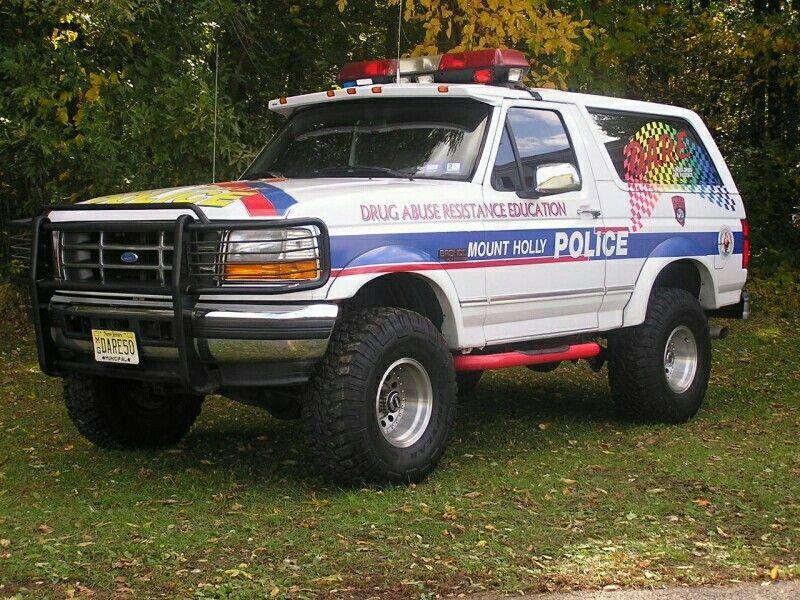Mount Holly (NJ) Police D.A.R.E. Ford Bronco XLT Police
