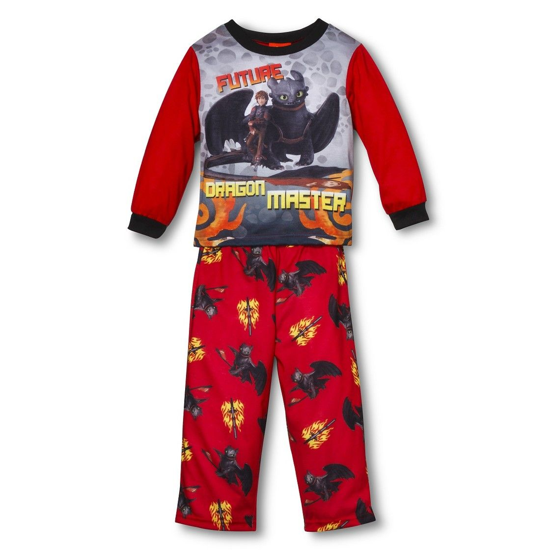 How To Train Your Dragon Toddler Boys 2 Piece Sleep Set
