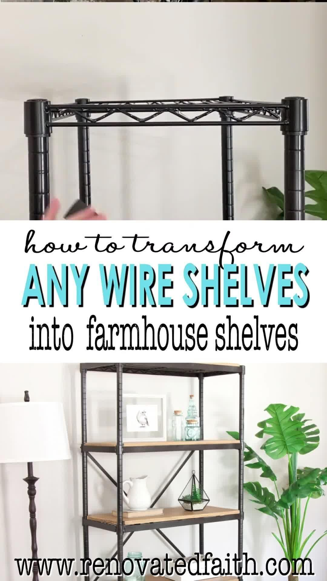 Photo of The Ultimate Wire Shelving Makeover