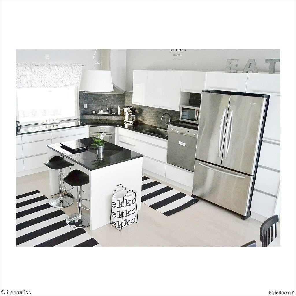 keittiö,minun keittiöni,mustavalkoinen,mustavalkoinen sisustus,rosteriset kod
