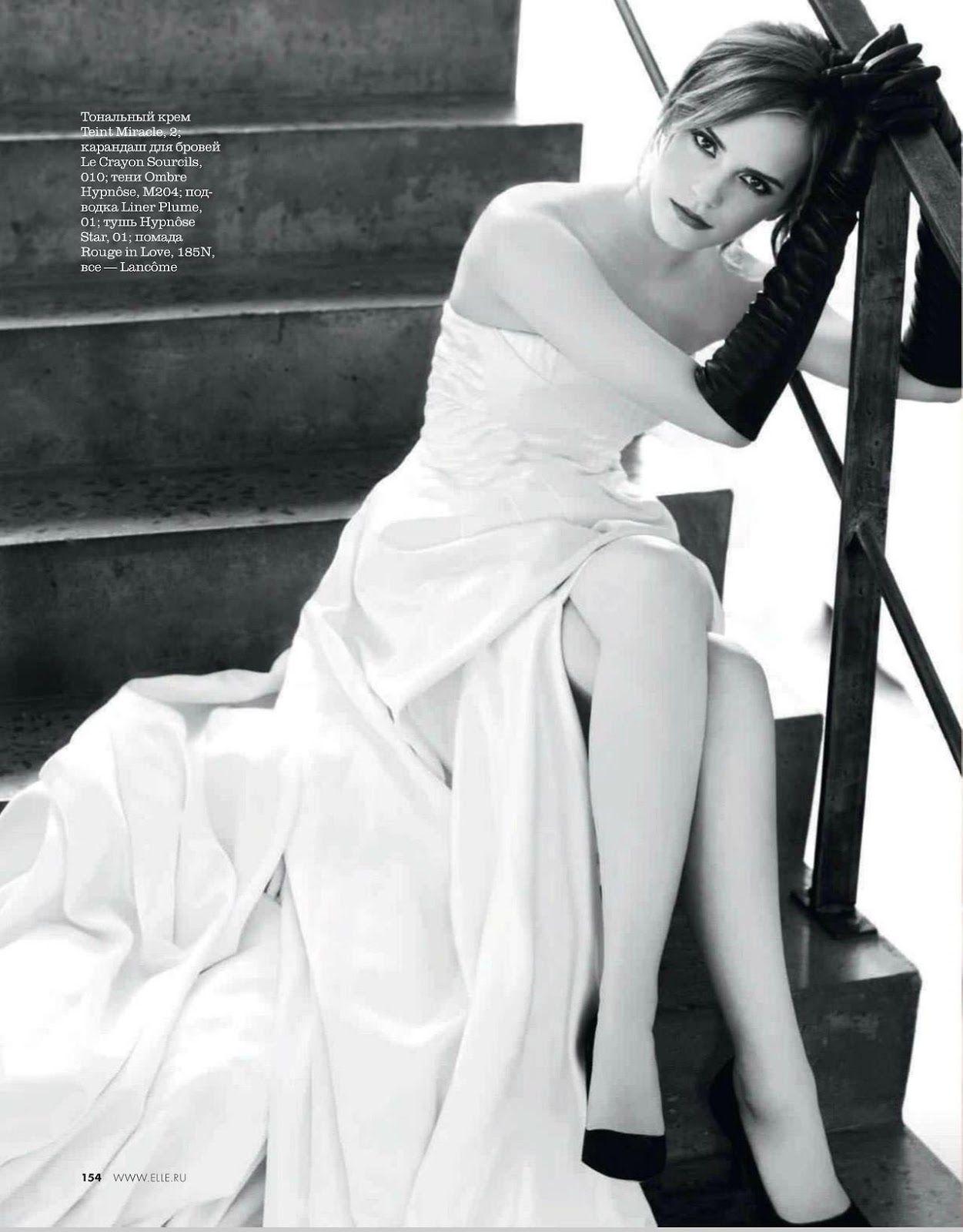 Emma Watson for ELLE Russia March 2013